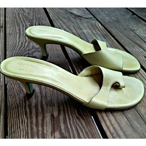 Donald J. Pliner Lime Green Toe Sandals